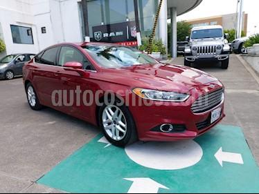 Ford Fusion SE usado (2016) color Rojo precio $209,000