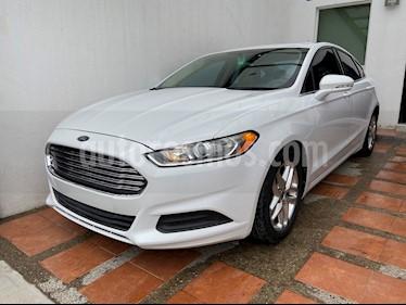 Ford Fusion SE usado (2013) color Blanco precio $175,000