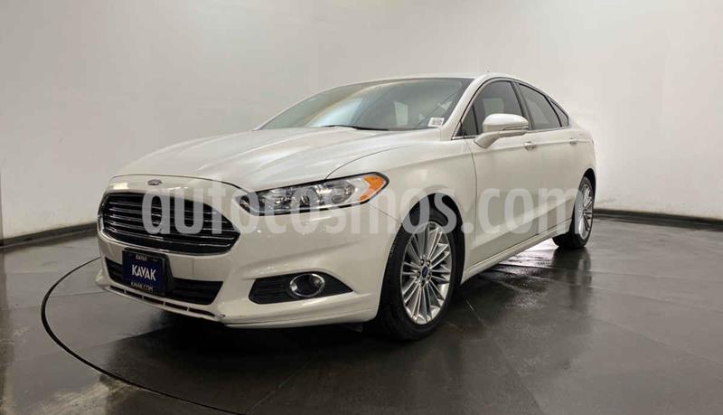 Ford Fusion SE Luxury usado (2014) color Blanco precio $197,999
