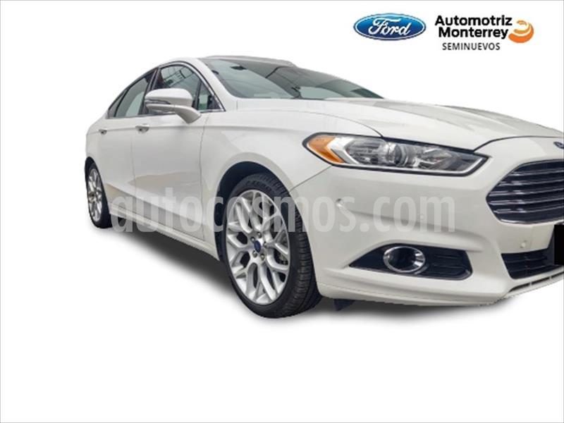 Ford Fusion TITANIUM PLUS 2L GTDI usado (2014) color Blanco precio $209,900
