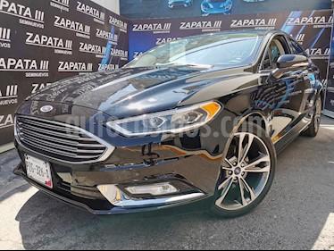 Ford Fusion Titanium usado (2017) color Negro Profundo precio $345,000