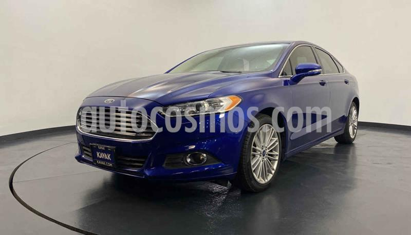 Ford Fusion SE Luxury usado (2014) color Azul precio $214,999
