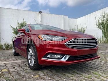 Ford Fusion SE Advance usado (2017) color Rojo precio $284,999