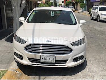 Ford Fusion SE Luxury usado (2015) color Blanco Platinado precio $200,000