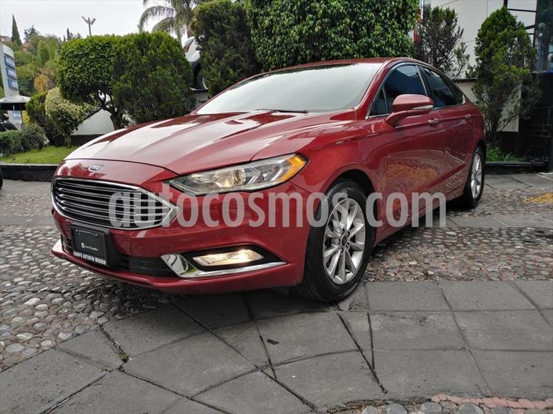 Ford Fusion SE ADVANCE NAV 2.5L I4 usado (2017) color Rojo precio $270,000
