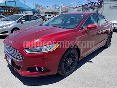 Ford Fusion SE ADVANCE L4/2.5/AUT NAV usado (2016) color Rojo precio $208,000