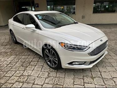 Ford Fusion Titanium usado (2017) color Blanco precio $369,000