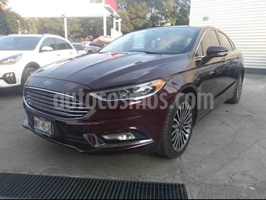 Foto Ford Fusion SE Luxury Plus usado (2017) color Rojo precio $310,000