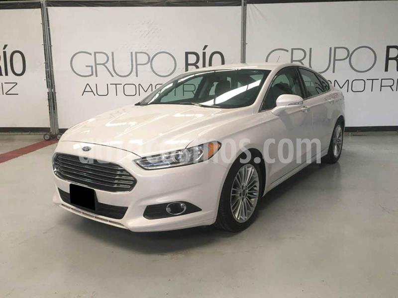 Ford Fusion SE Luxury usado (2014) color Blanco precio $210,000