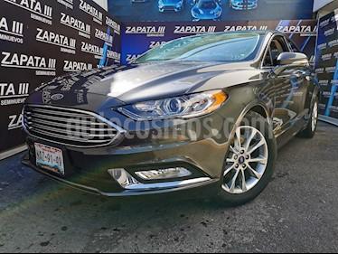 Ford Fusion SE LUX Hibrido usado (2017) color Gris precio $347,000