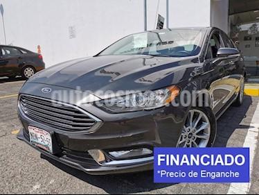 Ford Fusion SE Hibrido usado (2017) color Gris precio $81,250