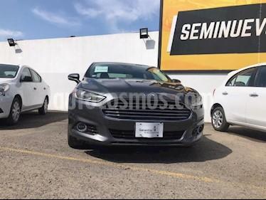 Ford Fusion 4P TITANIUM PLUS L4/2.0/T AUT usado (2016) color Gris precio $270,000