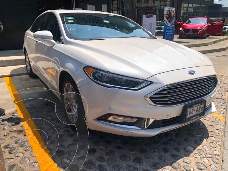 Foto Ford Fusion Titanium Plus usado (2018) color Blanco precio $350,000