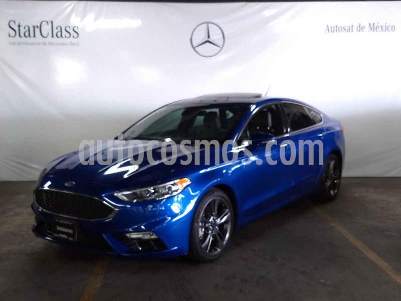 Ford Fusion S Aut usado (2017) color Azul precio $389,000