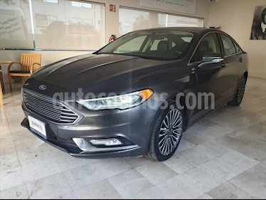 Ford Fusion SE Luxury Plus usado (2017) color Gris precio $310,000