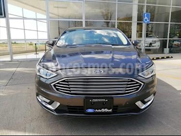 Ford Fusion Titanium usado (2017) color Gris precio $335,000