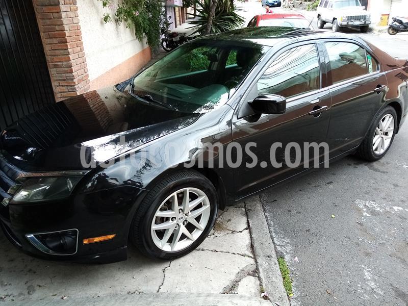 Ford Fusion SEL V6 usado (2010) color Negro precio $125,500