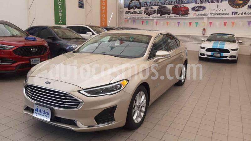 Ford Fusion SE LUX Hibrido usado (2019) color Dorado precio $435,000