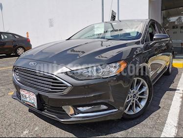 Ford Fusion SE Hibrido usado (2017) color Gris precio $320,000