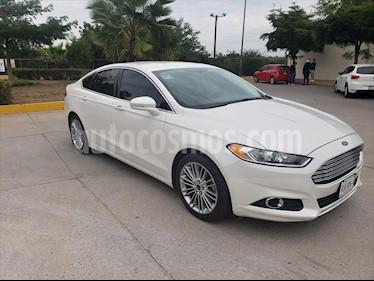 Ford Fusion SE LUXURY L4/2.0/T AUT usado (2015) color Blanco precio $199,000