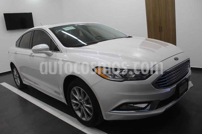 Ford Fusion SE Advance Nav usado (2017) color Blanco precio $299,000
