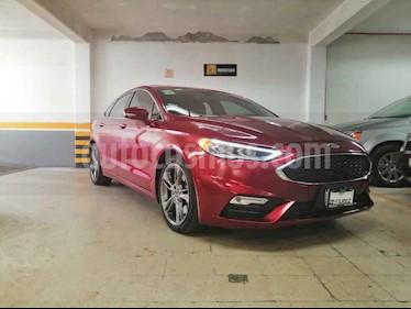 Ford Fusion Sport usado (2017) color Rojo precio $450,000