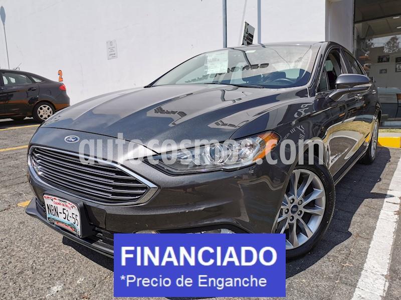 Ford Fusion SE Hibrido usado (2017) color Gris precio $74,000