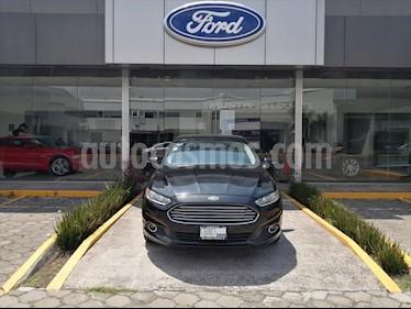 Ford Fusion 4P SE LUXURY L4 PIEL usado (2013) color Negro precio $157,000