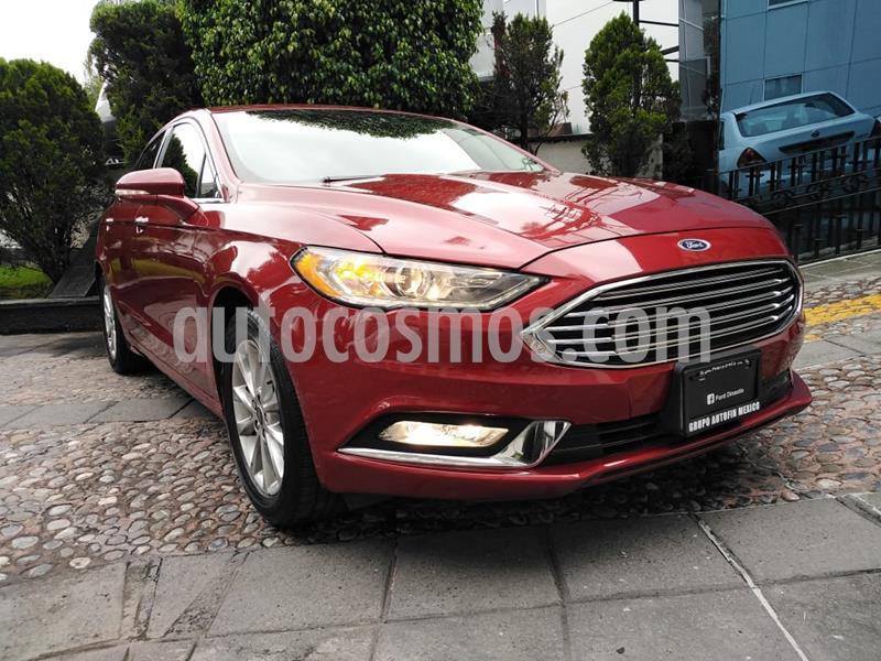 Ford Fusion SE Aut usado (2017) color Rojo precio $280,000