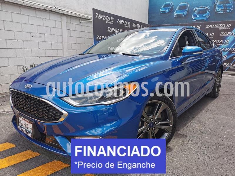Ford Fusion Sport usado (2017) color Azul Relampago precio $97,000