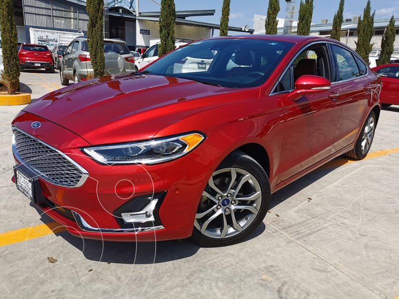 Foto Ford Fusion Titanium usado (2019) color Rojo Rubi precio $404,000