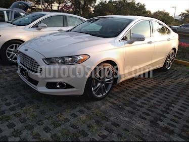 Ford Fusion TITANIUM PLUS L4/2.0/T AUT usado (2016) color Blanco precio $250,000