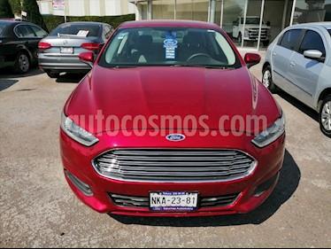 Ford Fusion 4P S L4 AUT usado (2013) color Rojo precio $145,000