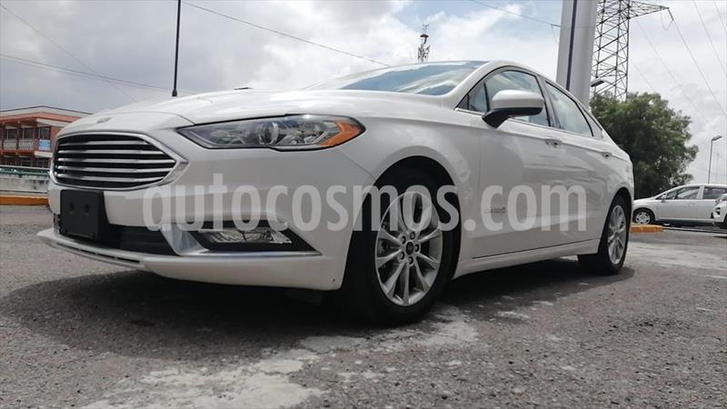 Ford Fusion 4P SE HIBRIDO LUXURY AUT usado (2017) color Blanco precio $290,000