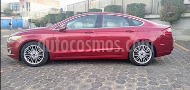 Ford Fusion SE Luxury usado (2016) color Rojo Rubi precio $232,000