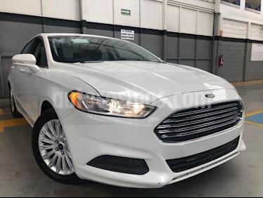 Ford Fusion 4P SE HIBRIDO 2.0L TA RA-17 usado (2016) color Blanco precio $255,000