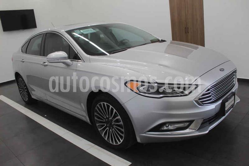 Ford Fusion SE Luxury Plus usado (2017) color Plata precio $329,000