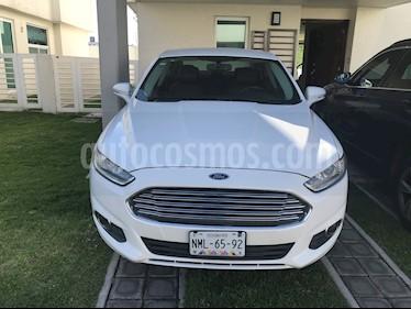 Ford Fusion SE Luxury usado (2015) color Blanco precio $185,000