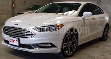 Ford Fusion Titanium usado (2017) color Blanco Platinado precio $329,000
