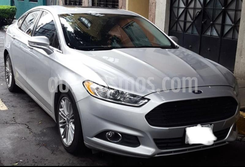 Ford Fusion SE Luxury Plus usado (2014) color Plata precio $175,000