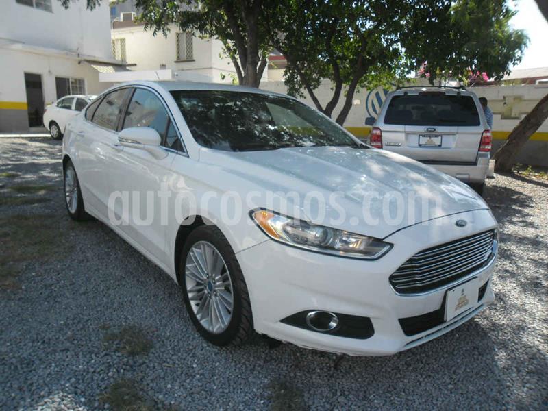 Ford Fusion SE Luxury usado (2013) color Blanco precio $173,000