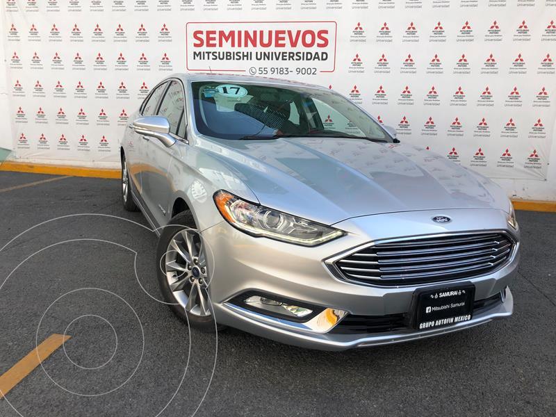 Foto Ford Fusion SE LUX Hibrido usado (2017) color Plata Estelar precio $310,000