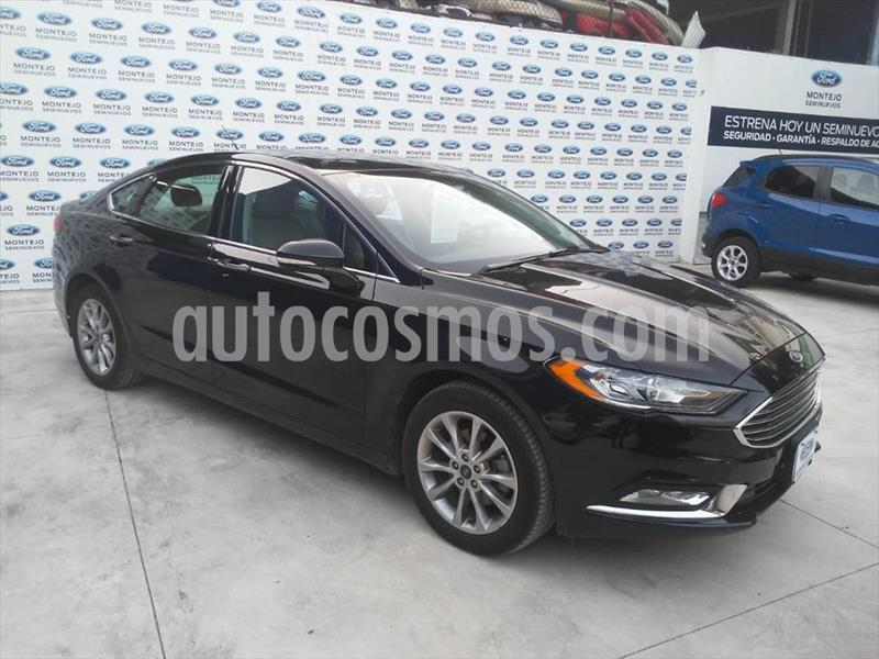 Ford Fusion SE ADVANCE NAV 2.5L I4 usado (2017) color Negro precio $265,000