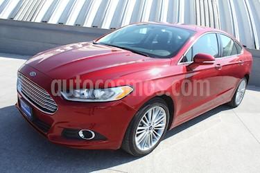 Ford Fusion SE Luxury Plus usado (2015) color Rojo Rubi precio $1,990,000