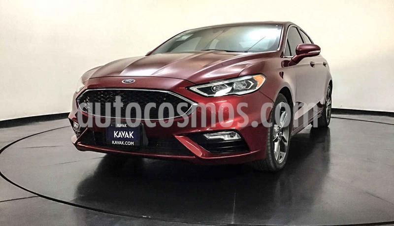 Ford Fusion Sport usado (2017) color Rojo precio $437,999