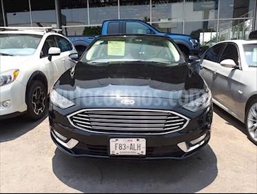 Ford Fusion SE LUX Hibrido usado (2017) color Negro precio $385,000