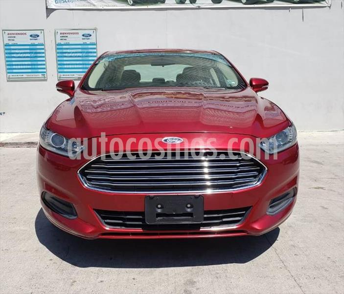 Ford Fusion SE usado (2013) color Rojo precio $180,000