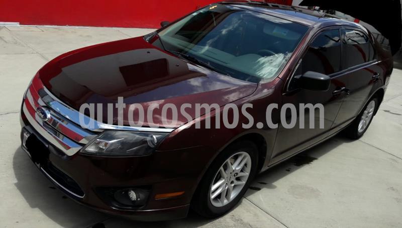 Ford Fusion S usado (2012) color Rojo precio $105,000