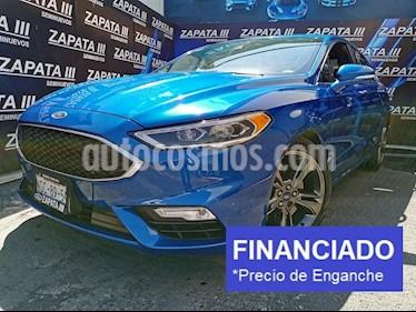 Ford Fusion Sport usado (2017) color Azul Relampago precio $100,000