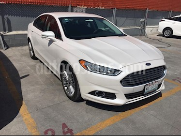 Ford Fusion SE Luxury usado (2016) color Blanco Platinado precio $199,000